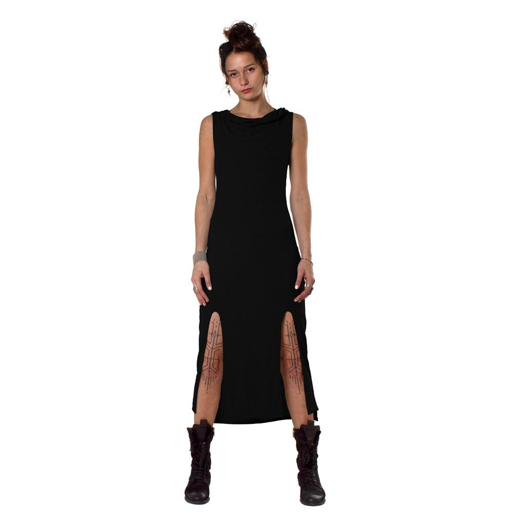 "\""Dion\"" dress, Black"