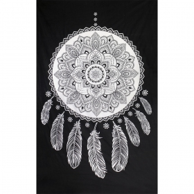 ""\""""Dream Catcher"""" hanging, Black and white""280|280|?|en|2|786f29d69426aca0b444f6b0e614b312|False|UNLIKELY|0.2991037368774414