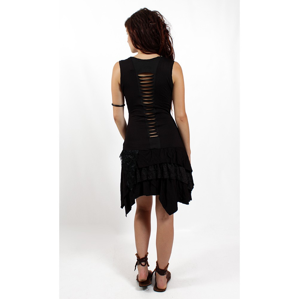 "Dress \""tanika\\\"" black"