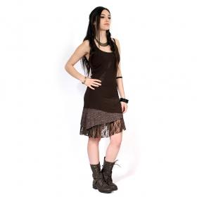 "Dress \""Tarmy\"", Dark Brown"