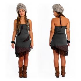 "Dress \""Tarmy\"", Grey brown"