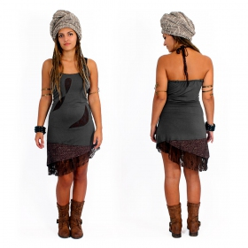 "Dress ""Tarmy\"", Grey brown"
