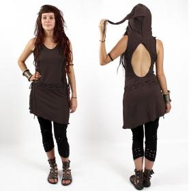 """Dress Exception \\\""""Rondo\\\"""" Dwarf Hood, Brown"""
