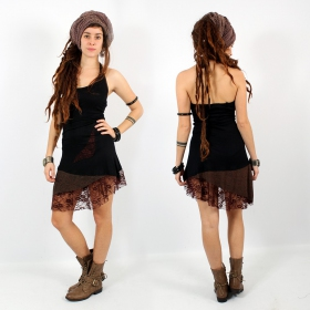 """Dress Exception \\\""""Tarmy\\\"""", Black brown"""