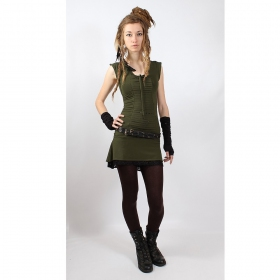 "Dress liloo wear ""jadeite\"", khaki-black"