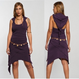 "Dress Luna ""Sassy\"", Purple"
