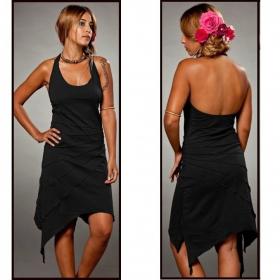 "Dress Luna ""Sassy\"" no hood, Black"