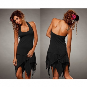 "Dress Luna ""Star Backless\"", Black"