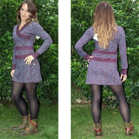 "Dress saï wear ""zla sai drop\"", plum"