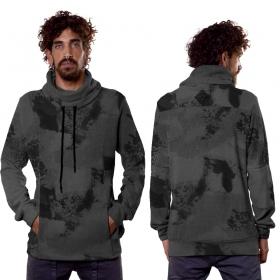 "\""Dusty\"" hoodie, Grey camouflage"