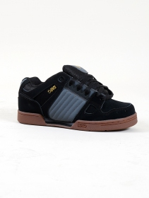 DVS Celsius, Black leather and grey and gold details