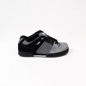 DVS Celsius, Light grey, dark grey and black nubuck leather