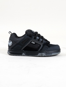 DVS Comanche, Black nubuck leather and grey details