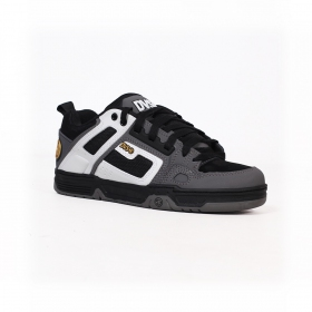 DVS Comanche, Grey and white leather with black details