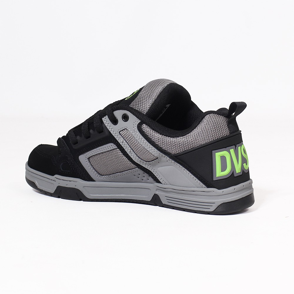 DVS Comanche, Light and dark grey nubuck leather