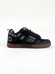 DVS Comanche 2.0+, Black and Camo leather