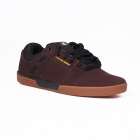DVS Drift +, Dark brown nubuck leather