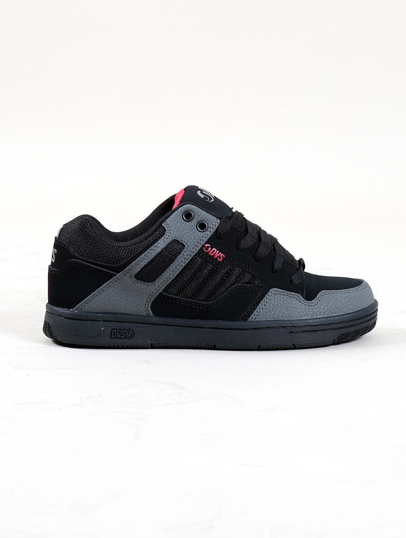 DVS Enduro 125, Black leather with grey details