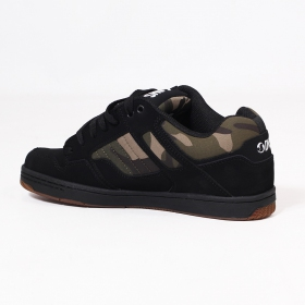 DVS Enduro 125, Black nubuck leather with camo details