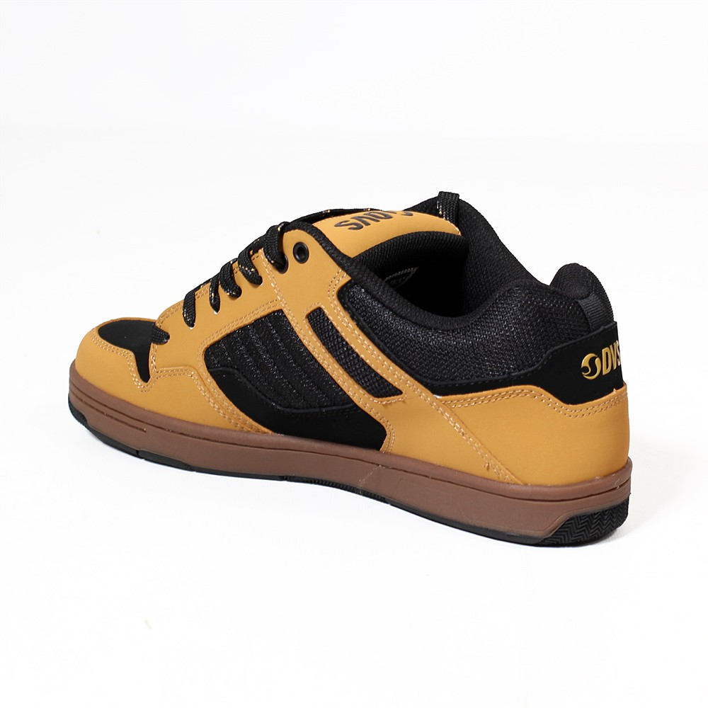 DVS Enduro 125, Camel nubuck leather with black details