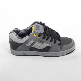 DVS Enduro 125, Grey and black nubuck leather