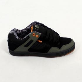 DVS Enduro 125, Khaki and black nubuck and leather