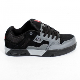 DVS Enduro Heir, Black and charcoal nubuck