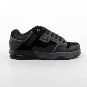 DVS Enduro Heir, Black and grey nubuck leather