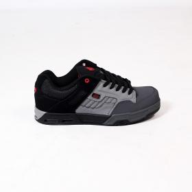 DVS Enduro Heir, Light grey, dark grey and black nubuck leather