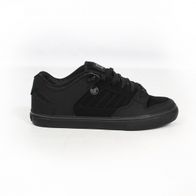 DVS Militia, Black and charcoal leather