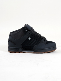 DVS Militia Boots, Black leather with black details