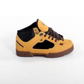 DVS Militia Boots, Camel leather