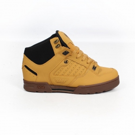 DVS Militia Boots, Camel leather with black details