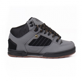 DVS Militia Boots, Grey leather and black details