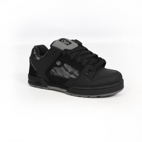 DVS Militia Snow, Black nubuck leather with camo details