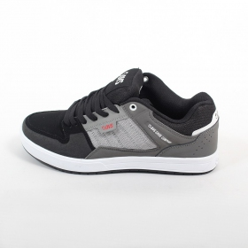 DVS Portal, Grey and black nubuck leather