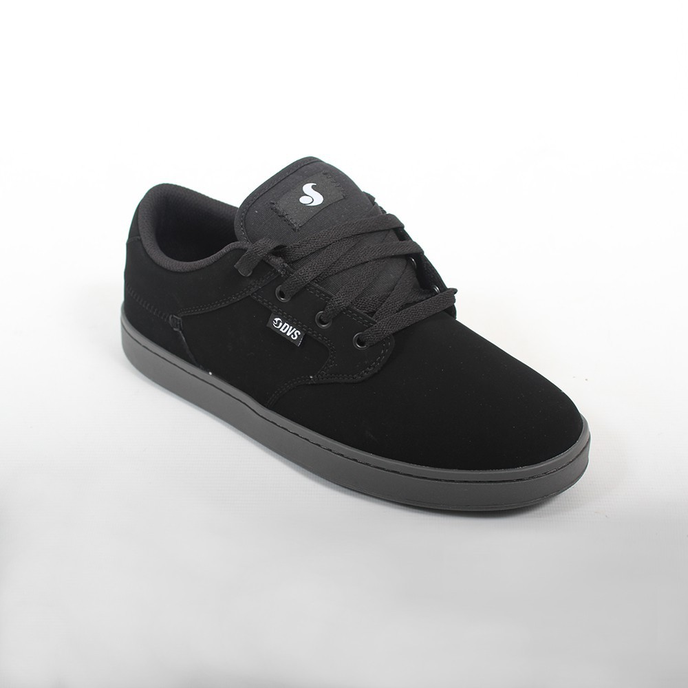 DVS Quentin, Black nubuck leather