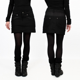 """Eklipse\"" skirt, Black"