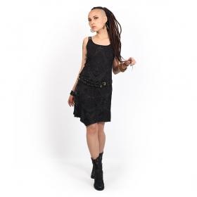 "\""Electra Africa\"" dress, Black"