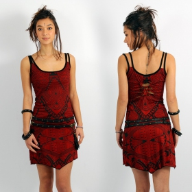 """Electra Africa\"" dress, Red"