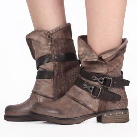 "\""Elenwë\"" boots, Taupe"
