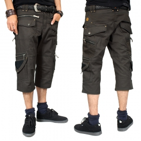 """Elipse\"" 3/4 shorts, Dark grey"