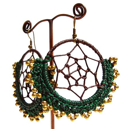""\""""Elkaissa"""" ethnic golden brass earrings with beads and stones""450|450|?|en|2|d50c3f20f630fb3f7ff17ba0981e7f3e|False|UNLIKELY|0.2956089973449707