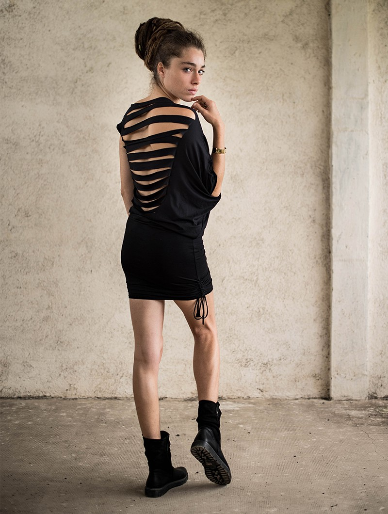 "\""Elm Street\"" dress, Black"