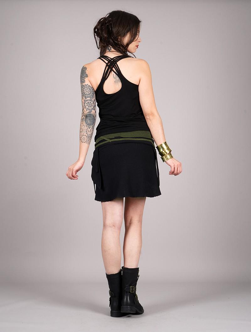 "\""Eneko\"" sleeveless top, Black"