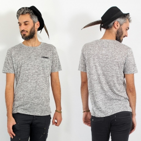 """Erawan\"" t-shirt, Beige grey"