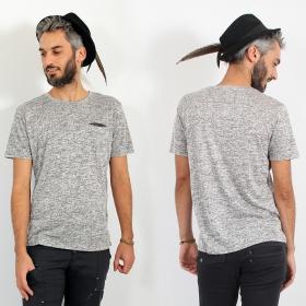 "\""Erawan\"" t-shirt, Beige grey"