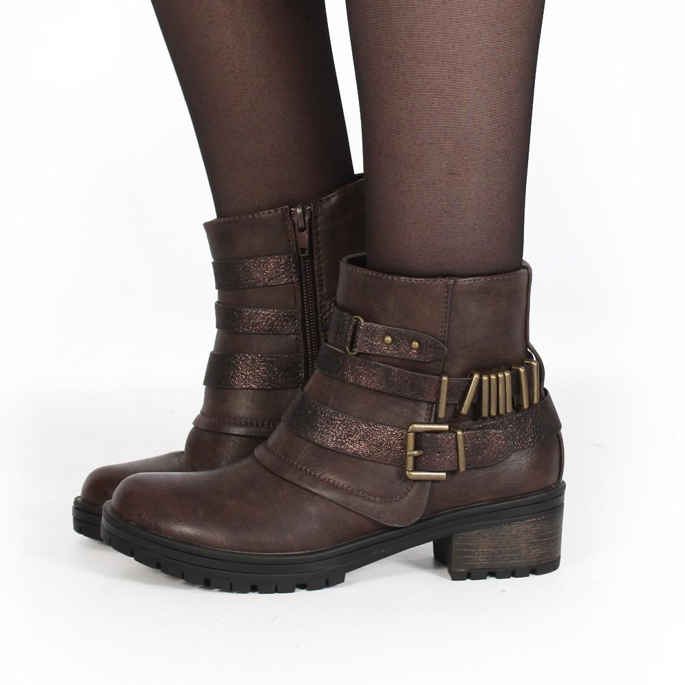 "\""Eryzz\"" boots , Brown"