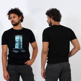 "\""E.T. phone home\"" t-shirt, Black"