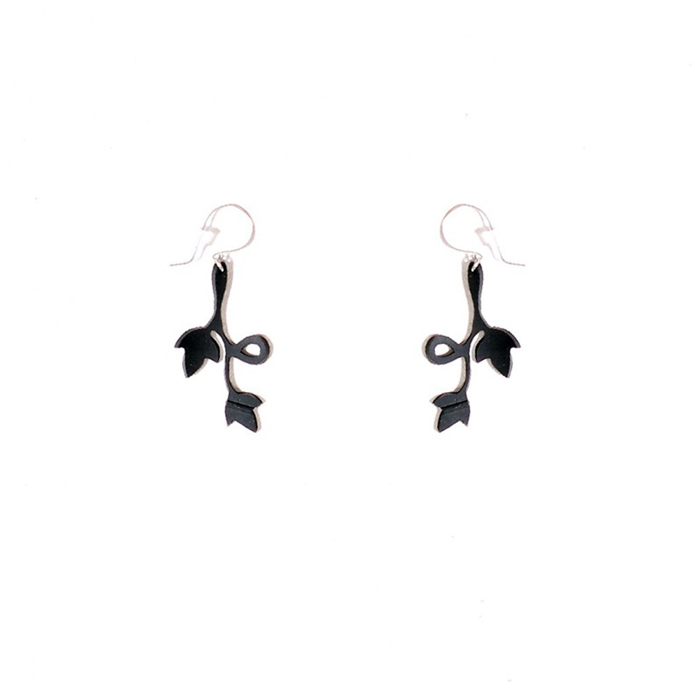"""Evelyn\"" inner tube earrings"